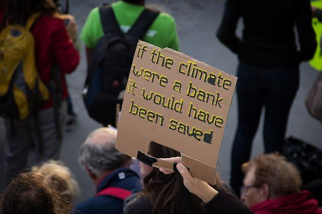 Proteste gegen Klimwandel
