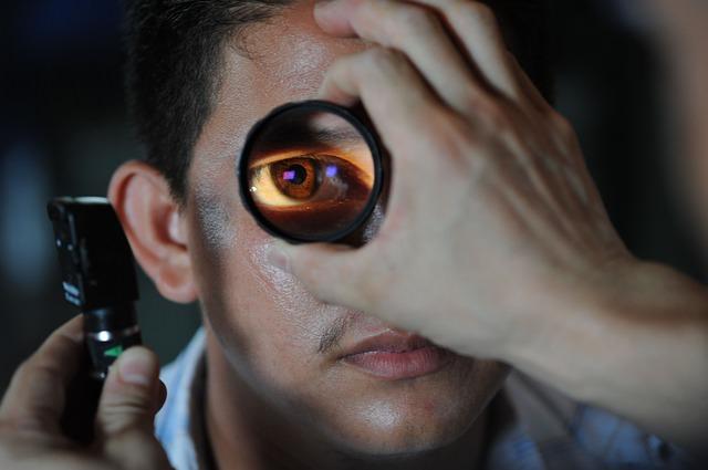 Augeninfarkt behandeln