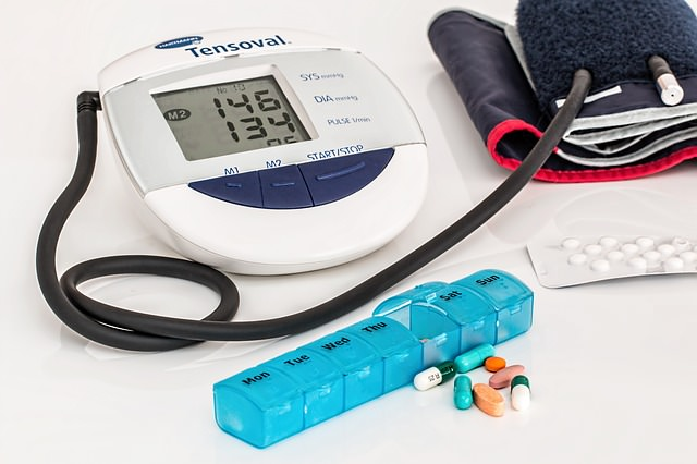 Hyposphagma durch Bluthochdruck
