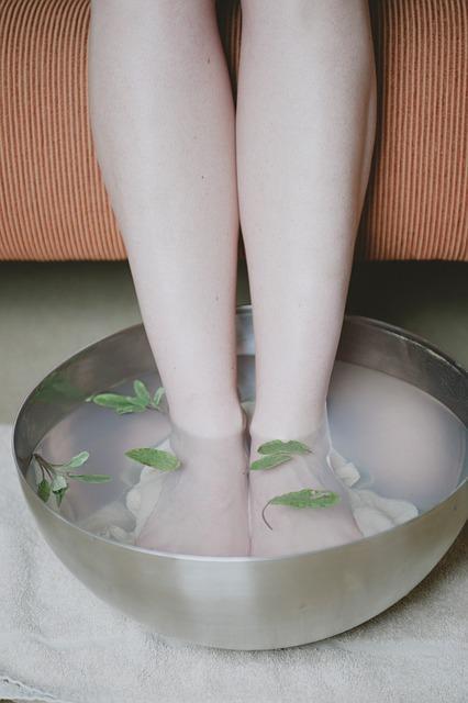 Warzen nach Fußbad entfernen