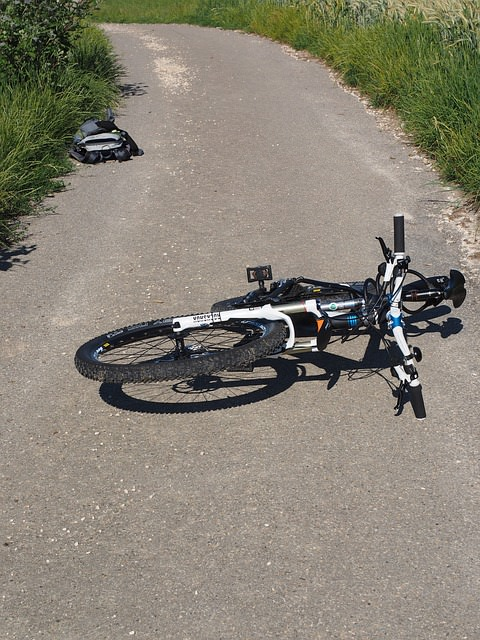 Wundheilung nach Fahrradsturz