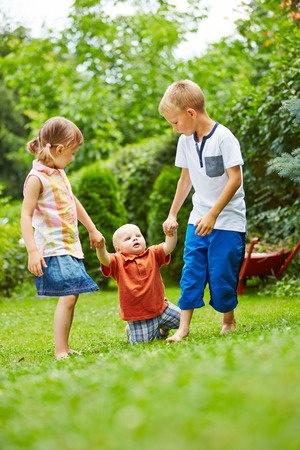 Hilfsbereitschaft bei Kindern