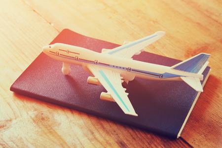 Reisepass für eine Reise in die USA