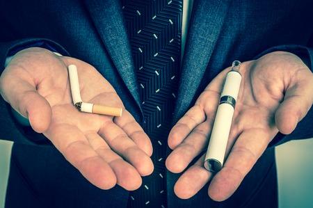 e-zigarette vs zigarette