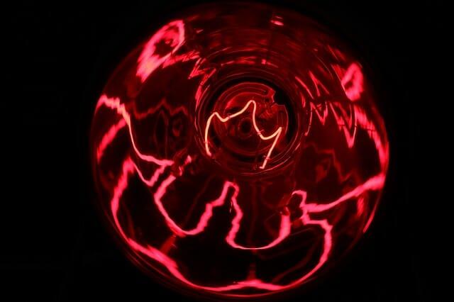 Bild Rotlichtlampe