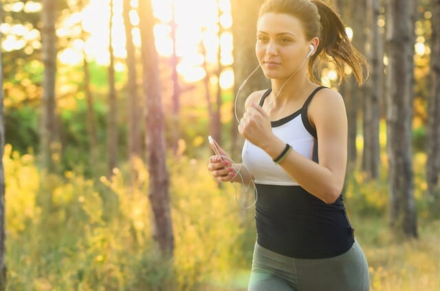Bild joggen
