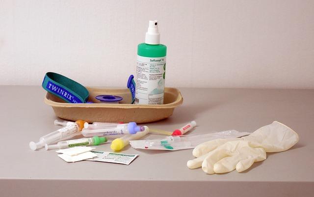 Hygiene bei Wunde