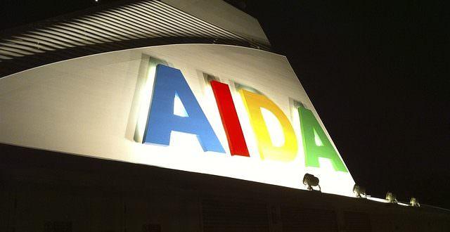 Urlaub auf der Aida