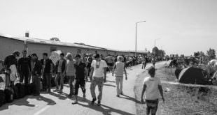 Flüchtlingswelle