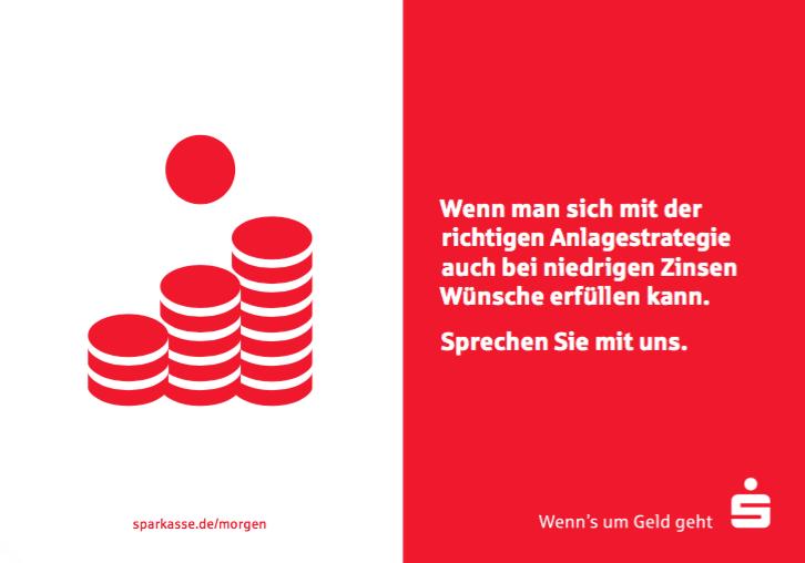 """Sparen fürs Alter mit der Sparkasse - """"Geld für später"""""""