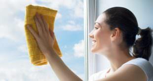 streifenfrei Fenster putzen