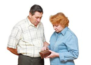 Bild: Rentner ohne Geld